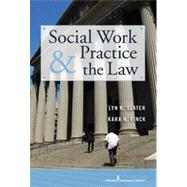 Social Work Practice and the Law: Becoming a Collaborative and Critically Competent Practitioner by Slater, Lyn, 9780826117663