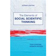 The Elements of Social Scientific Thinking by Donovan, Todd; Hoover, Kenneth R., 9781133607670