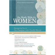 The Study Bible for Women: HCSB Large Print Edition, Printed Hardcover by Patterson, Dorothy Kelley; Kelley, Rhonda; Holman Bible Staff, 9781433607677