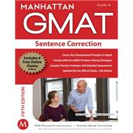Sentence Correction GMAT Strategy Guide, 5th Edition by Manhattan GMAT, -, 9781935707677