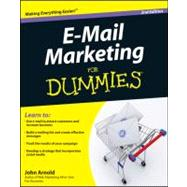 E-Mail Marketing For Dummies by Unknown, 9780470947678
