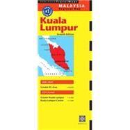 Periplus Travel Map Kuala Lumpur Malaysia by Periplus, 9780794607678