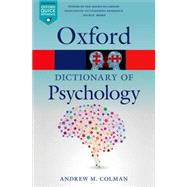 A Dictionary of Psychology by Colman, Andrew M., 9780199657681