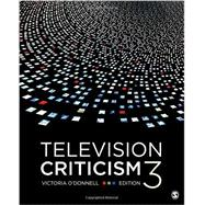 Television Criticism by O'Donnell, Victoria, 9781483377681