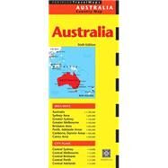 Australia Country Map by Periplus, 9780794607685