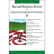 Harvard Business Review On Appraising Employee Performance by Harvard Business Review, 9781591397687