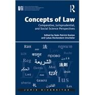 Concepts of Law: Comparative, Jurisprudential, and Social Science Perspectives by Urscheler,Lukas Heckendorn;Don, 9781138637689