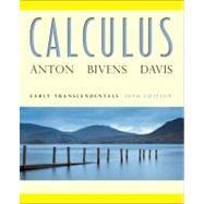 Calculus Early Transcendentals, 10th Edition by Howard Anton (Drexel Univ.); Irl C. Bivens; Stephen Davis (Davidson College), 9780470647691