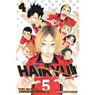 Haikyu!! 4 by Furudate, Haruichi, 9781421587691