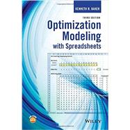 Optimization Modeling With Spreadsheets by Baker, Kenneth R., 9781118937693