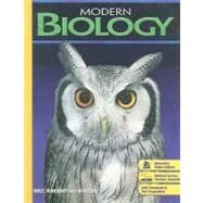 Modern Biology by Postlethwait, John H.; Hopson, Janet L., 9780030367694