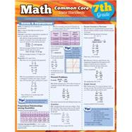 Math Common Core, 7th Grade: State Standards by Barcharts, Inc., 9781423217695