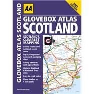 AA Glovebox Atlas Scotland by Automobile Association (Great Britain), 9780749577698