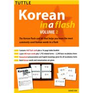 Korean in a Flash Kit by Kim, Soohee, 9780804847698