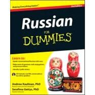 Russian for Dummies by Kaufman, Andrew; Gettys, Serafima, 9781118127698