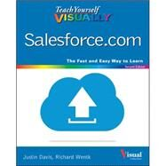Teach Yourself Visually Salesforce.com by Davis, Justin; Wentk, Richard, 9781119047698
