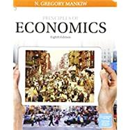 Bundle: Principles of Economics, Loose-Leaf Version, 8th + MindTap Economics, 2 terms (12 months) Printed Access Card by Mankiw, N. Gregory, 9781337607698