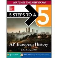 5 Steps to a 5 AP European History 2016 Edition by Brautigam, Jeffrey, 9780071837699