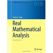 Real Mathematical Analysis by Pugh, Charles C., 9783319177700