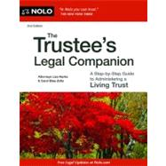 The Trustee's Legal Companion by Hanks, Lisa; Zolla, Carol Elias, 9781413317701
