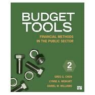 Budget Tools by Chen, Greg G.; Weikart, Lynne A.; Williams, Daniel W., 9781483307701