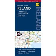 AA Road Map Ireland by AA Media Limited, 9780749577704