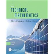 Basic Technical Mathematics by Washington, Allyn J.; Evans, Richard, 9780134437705