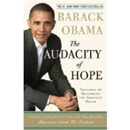 The Audacity of Hope by OBAMA, BARACK, 9780307237705