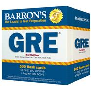 Barron's GRE Flash Cards by Green, Sharon Weiner; Wolf, Ira K., Ph.D., 9780764167706