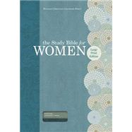 The Study Bible for Women: HCSB Large Print Edition, Teal/Sage LeatherTouch, Indexed by Patterson, Dorothy Kelley; Kelley, Rhonda; Holman Bible Staff, 9781433607707