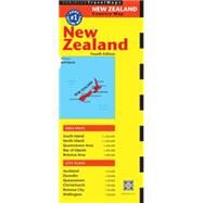 Periplus TravelMap New Zealand by Periplus, 9780794607708