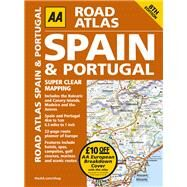 Road Atlas Spain & Portugal by Automobile Association (Great Britain), 9780749577711