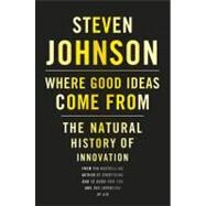 Where Good Ideas Come From The Natural History of Innovation by Johnson, Steven, 9781594487712