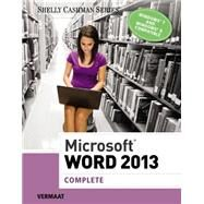 Microsoft Word 2013 Complete by Vermaat, Misty E., 9781285167725