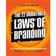The 22 Immutable Laws of Branding by Ries, Al, 9780060007737