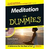 Meditation For Dummies by Bodian, Stephan; Ornish, Dean, 9780471777748