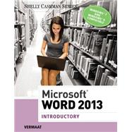 Microsoft Word 2013 Introductory by Vermaat, Misty E., 9781285167749