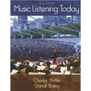 Music Listening Today by Hoffer, Charles; Bailey, Darrell, 9781285857749