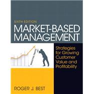 Market-Based Management by Best, Roger, 9780130387752