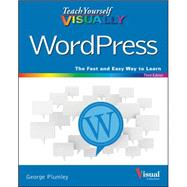 Teach Yourself Visually Wordpress by Plumley, George, 9781119047759
