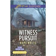 Witness Pursuit by White, Hope, 9780373677764