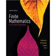 Finite Mathematics & Its Applications by Goldstein, Larry J.; Schneider, David I.; Siegel, Martha J.; Hair, Steven, 9780134437767