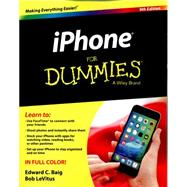 Iphone for Dummies by Baig, Edward C.; Levitus, Bob, 9781119137771