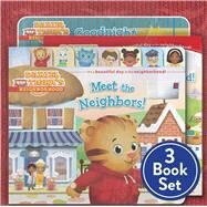 Daniel Tiger Shrink-Wrapped Pack #1 Goodnight, Daniel Tiger; Meet the Neighbors!; Welcome to the Neighborhood at Biggerbooks.com
