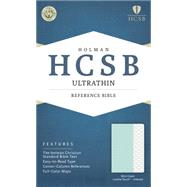 HCSB Ultrathin Reference Bible, Mint Green LeatherTouch, Indexed by Holman Bible Staff, 9781433617782