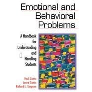 Emotional and Behavioral Problems by Zionts, Paul; Zionts, Laura; Simpson, Richard L., 9781634507783