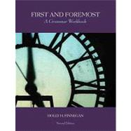 First and Foremost A Grammar Workbook by Finnegan, Holly, 9780558387785
