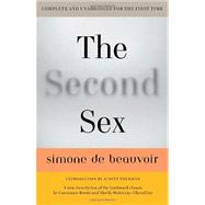 The Second Sex by BEAUVOIR, SIMONE DEBORDE, CONSTANCE, 9780307277787