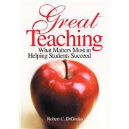 Great Teaching by Digiulio, Robert C., 9781634507790