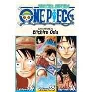 One Piece: Water Seven 34-35-36, Vol. 12 (Omnibus Edition) by Oda, Eiichiro, 9781421577791